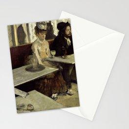 "Edgar Degas ""The Absinthe Drinker (Au Café, l'Absinthe)"" Stationery Cards"