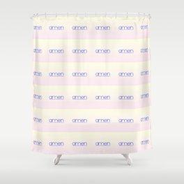 amen 4 Shower Curtain