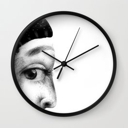 Emma's cautiousness Wall Clock