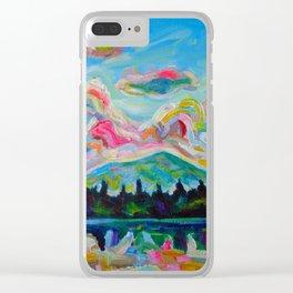 Okanagan Summer Clear iPhone Case