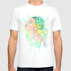 Lady Of The Sea Mens Fitted Tee MEDIUM White