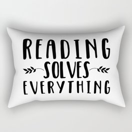 Reading Solves Everything Rectangular Pillow
