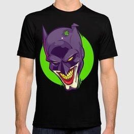 A bat joke T-shirt