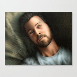 Dan Feuerriegel (Color Version) Canvas Print