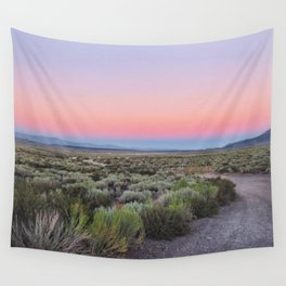 California Desert Road Wall Tapestry
