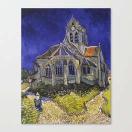The Church at Auvers by Vincent van Gogh Canvas Print