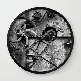 Old Farm Mechanics 1 Wall Clock