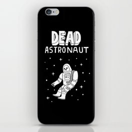 Dead Astronaut iPhone Skin