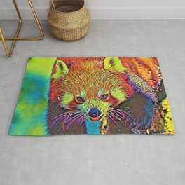 AnimalColor_RedPanda_002_by_JAMColors Rug