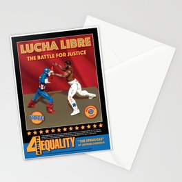 Lucha Libre, The Struggle Stationery Cards