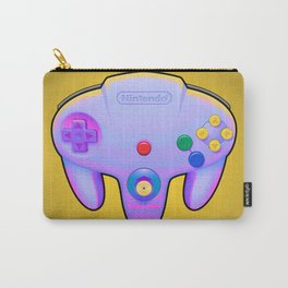 N64 PAD Glitched Carry-All Pouch