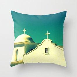 Dos Cruzas fine art photography Throw Pillow