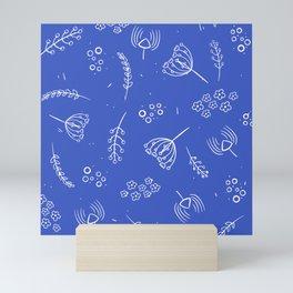 Flower Field Mini Art Print