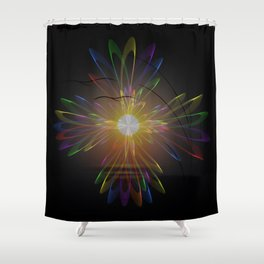 Light and energy - sunset Shower Curtain
