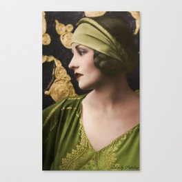 Natacha Rambova 1920s Canvas Print