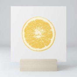 Orange. Citrus. Single. Mini Art Print