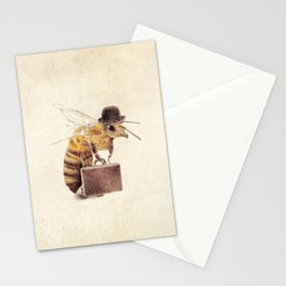 Worker Bee Stationery Cards