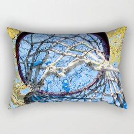 Basketball Art Street Design Rectangular Pillow