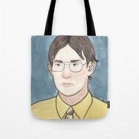 battlestar Tote Bags featuring Bears. Beets. Battlestar Galactica.   by Jillinois