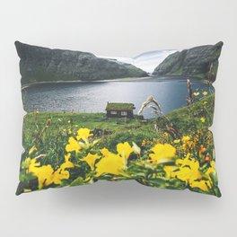 Cabin in Saksun - Faroe Islands Pillow Sham