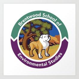 Brentwood School of Environmental Studies Art Print