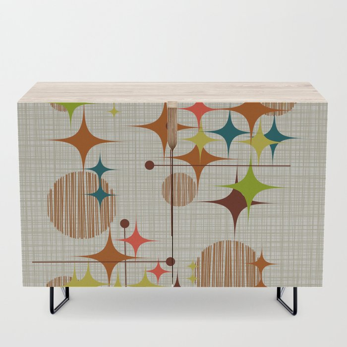 Starbursts_and_Globes_4_Credenza_by_Mokuluaman__Black__Birch