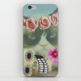 Cat bohoo iPhone Skin