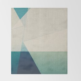 Water Splitter Throw Blanket