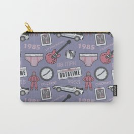 Back To The Future Pattern Carry-All Pouch