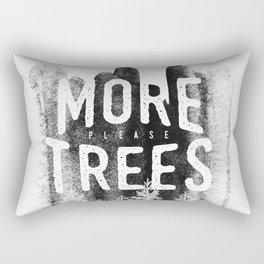 More trees Rectangular Pillow