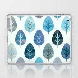 Watercolor Forest Pattern #2 Laptop & iPad Skin