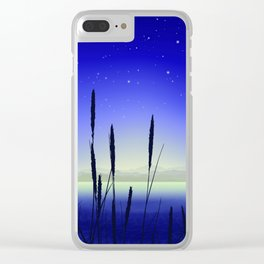 Cattail Lake Clear iPhone Case