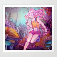 cyarin Art Prints featuring Child. by Cyarin
