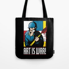 Art is War! Tote Bag