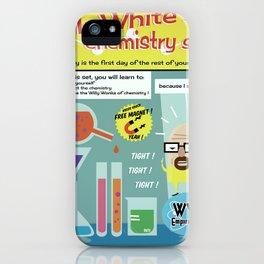 Walter White's Chemistry set V2 iPhone Case
