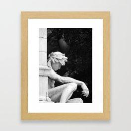 feathered friend  Framed Art Print