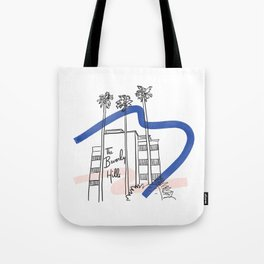 Iconic Los Angeles - Beverly Hills Hotel Tote Bag