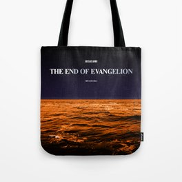 Movie Poster: The End of Evangelion Tote Bag