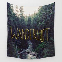 Wanderlust: Rainier Creek Wall Tapestry