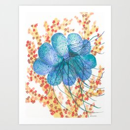 Bubble Jelly Art Print
