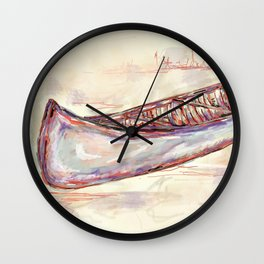 Canoe Wall Clock