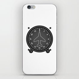 Directional Gyro Flight Instruments iPhone Skin