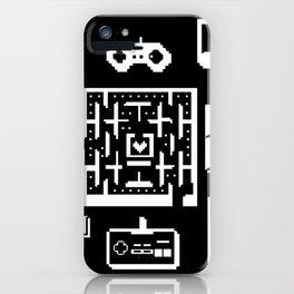 Geek Gamer Pattern iPhone Case