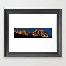 Everest Sunset Framed Art Print