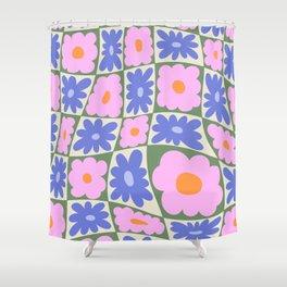 Floral seven Shower Curtain