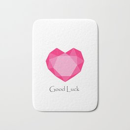 Love, Good Luck Bath Mat