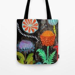 Gardening At Night Tote Bag