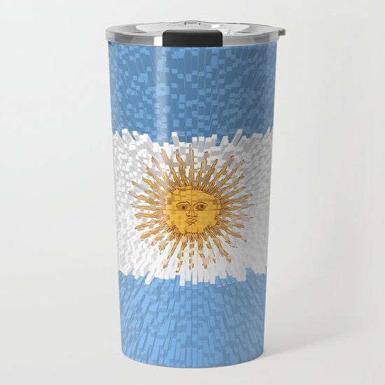 Extruded Flag of Argentina by drpen