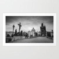 prague Art Prints featuring Prague by Johannes Valkama