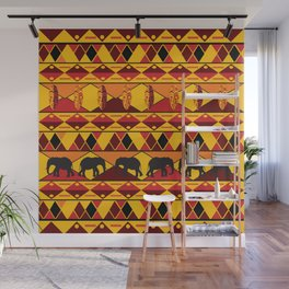 African Tribal Pattern No. 34 Wall Mural
